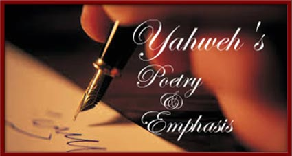 Yahweh's Poetry and Emphasis